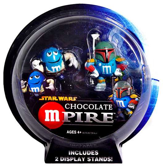 Star Wars Chocolate Mpire Han Solo & Boba Fett Action Figure 2-Pack