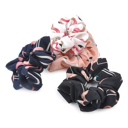 Hair Accessories Elastic Chiffon Rubber Bands Ring Headwear Girl Hair Band - image 2 of 3