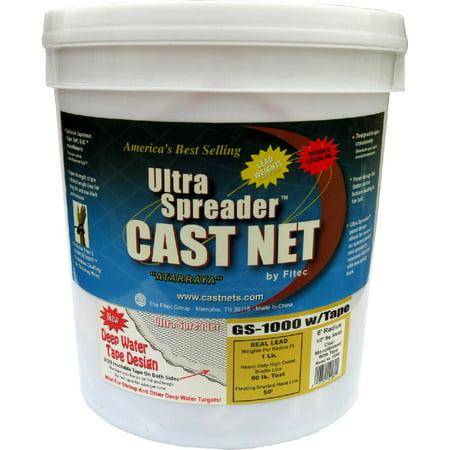 FITEC GS1000 Ultra Spreader Cast Net 1/2