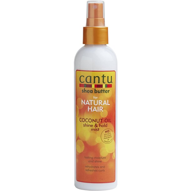 Cantu Shea Butter for Natural Hair Coconut Oil Shine & Hold Mist 8 fl. oz.