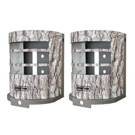 (2) MOULTRIE MCA-12665 Panoramic Game Camera Security Boxes Fits P150 & P150i thumbnail