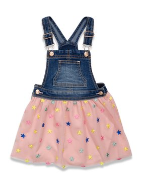 Wonder Nation Baby & Toddler Girl Denim Tutu Skirtall