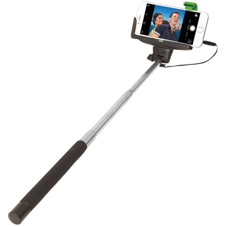jivewire etjwselfiew retractable wired selfie stick. Black Bedroom Furniture Sets. Home Design Ideas