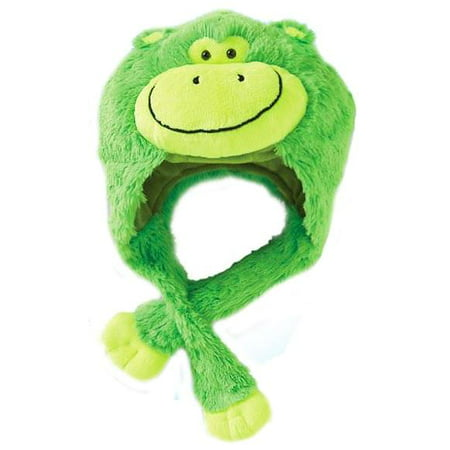 Premium Plush Hat Neonz Neon Green Monkey](Glass Monkey Green Bay)