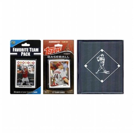 C & I Collectibles Licensed 2014 Topps  Team Set and Favorite Player Trading Cards Plus Storage Album](Arizona Trading Company)
