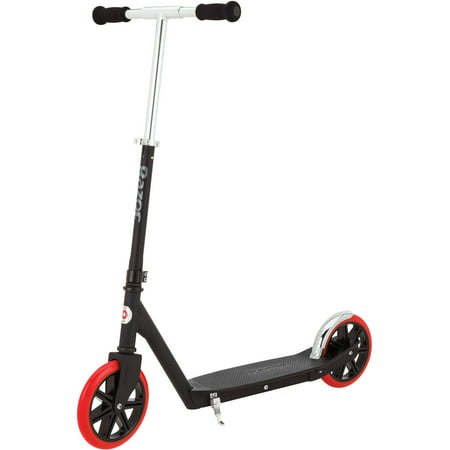 Razor Carbon Lux Kick Scooter, Black