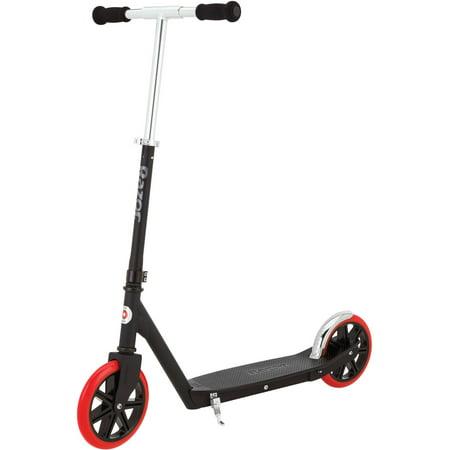 Razor Carbon Lux Kick Scooter, Black