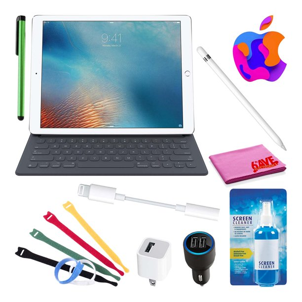 "Apple 9.7"" iPad Pro Smart Keyboard (English) Bundle with ..."