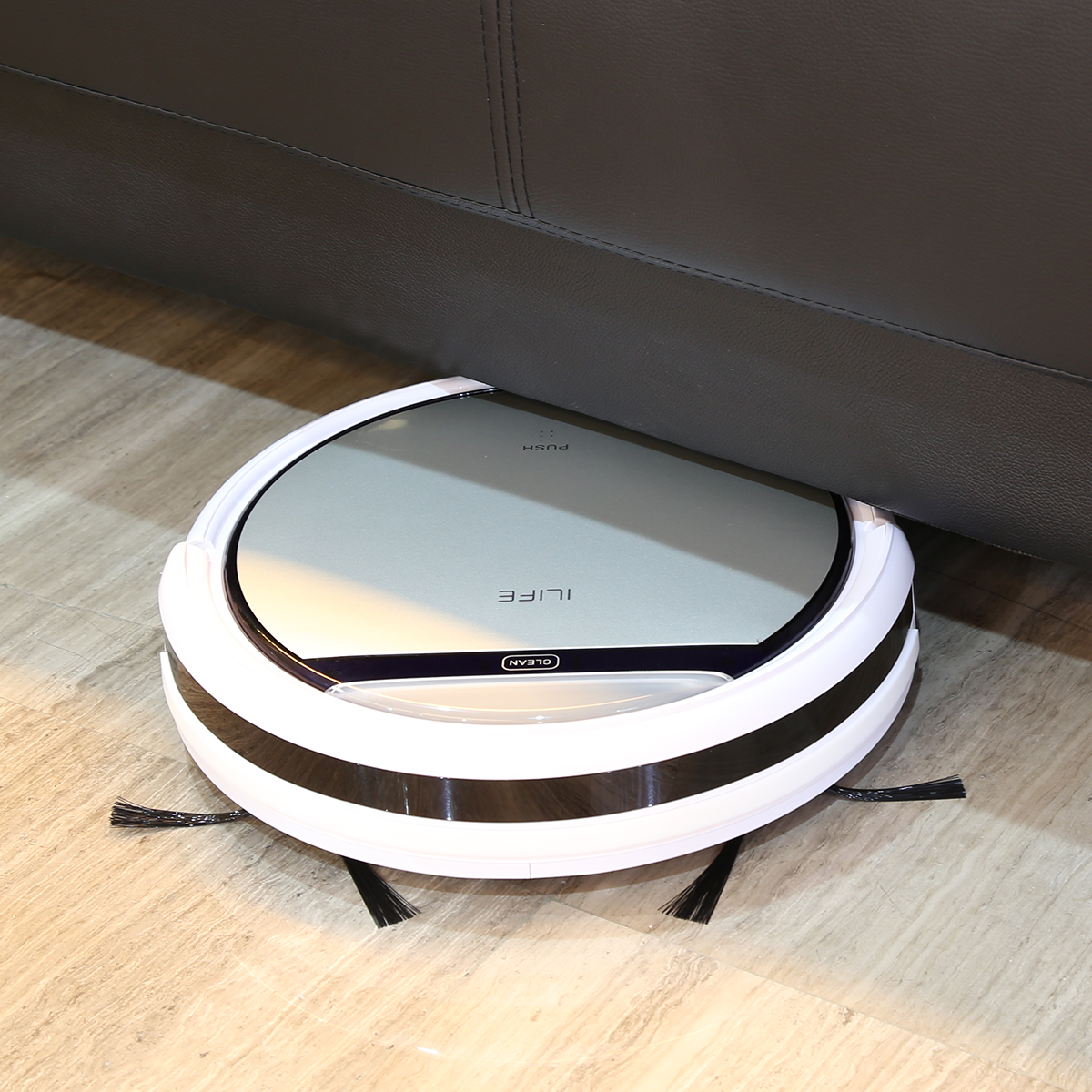 ILIFE V5 Smart Cleaning Robot Floor Cleaner Auto Vacuum Microfiber Dust  Cleaner Automatic Sweeping Machine   Walmart.com