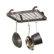 Enclume USA Handcrafted Low Ceiling Small Rectangle Pot Rack