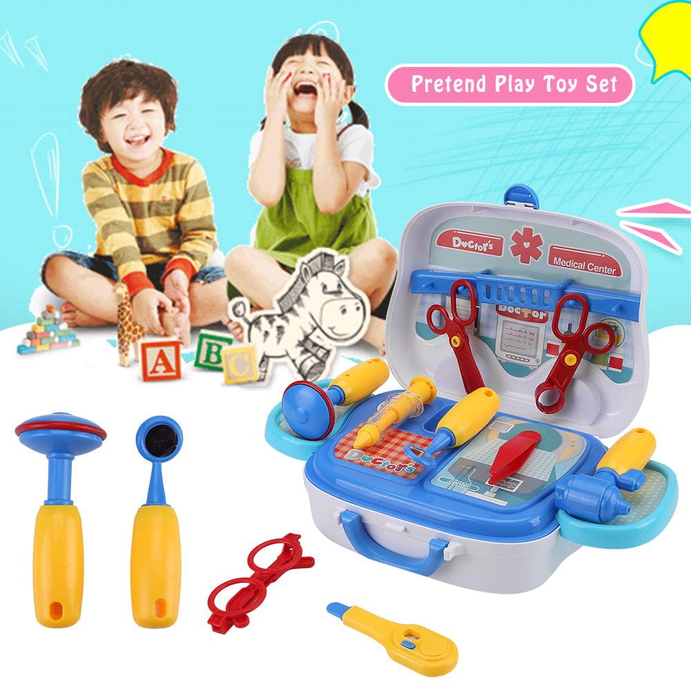 Fosa Kids Pretend Play Toys Cooking Medical Equipment Repair Tool
