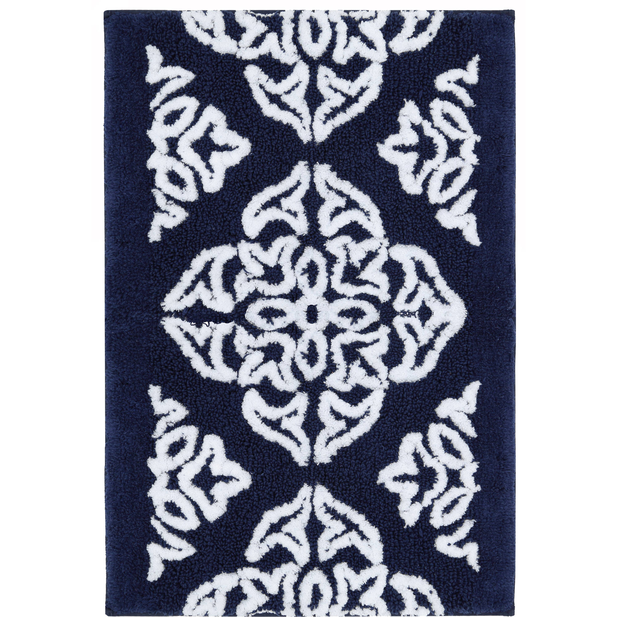 Better Homes and Gardens Indigo Arabesque Bath Mat