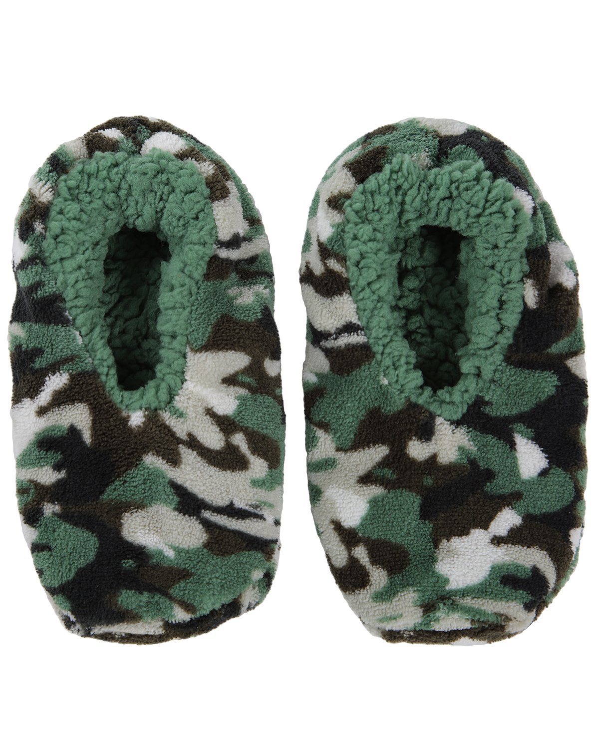 MeMoi Boys Camo Slippers | Little Boys Slippers and Slippers for Kids M / Green MKF5 2538