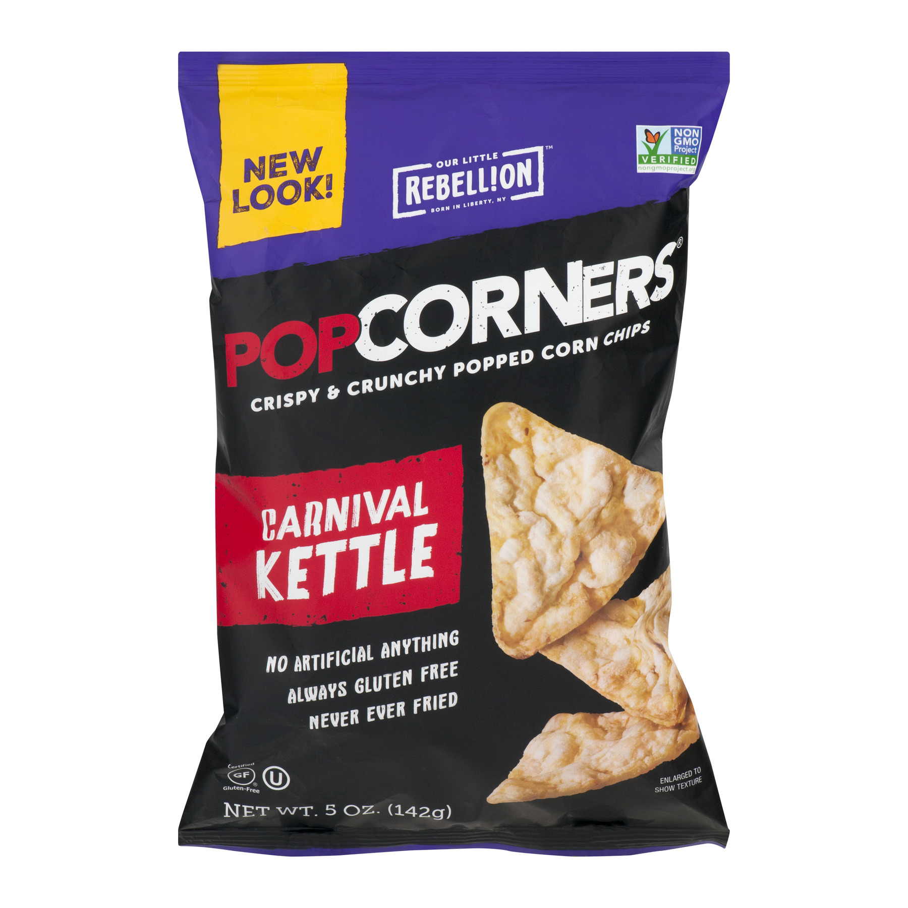 Popcorners All Natural Popped Corn Chips Gluten Free ...