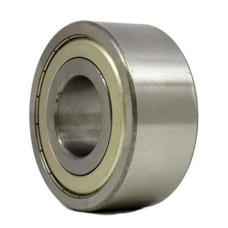 6203-Z Radial Ball Bearing Double Shielded Bore Dia. 17mm OD 40mm Width (17mm Metric Ball Bearings)