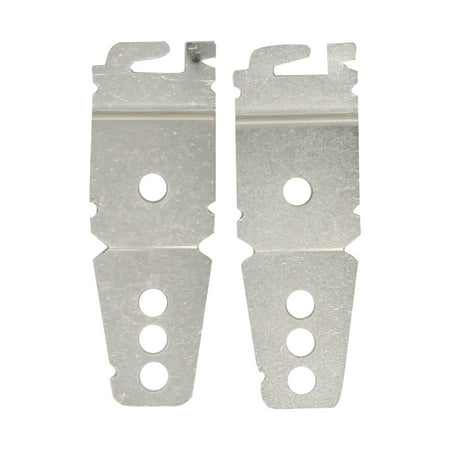 8212560 & 8269145 Mounting Bracket Replacement Kit With Screw Replacement for KitchenAid KUDS30SXWH0 Dishwasher - Compatible with WP8269145 & 8212560 Undercounter Dishwasher Mounting Bracket - image 2 de 4