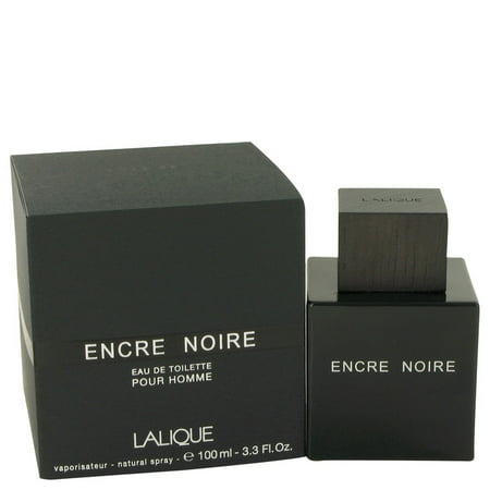 Lalique Encre Noire Eau De Toilette Spray for Men 3.4 oz