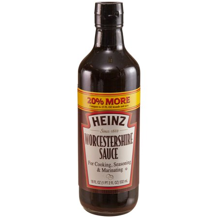 (3 Pack) Heinz Worcestershire Sauce, 18 fl oz Bottle