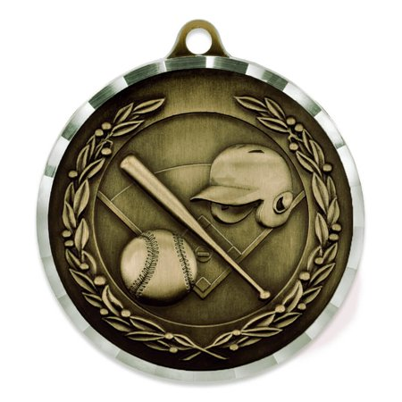 Baseball Award Sports Bulk Medal - Gold, Silver and Bronze!