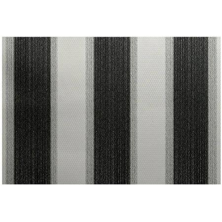 (Simply Daisy 3' x 5' Striate Stripe Stripe Print Indoor Rug)