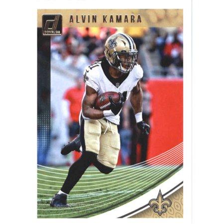 2018 Donruss #196 Alvin Kamara New Orleans Saints Football Card