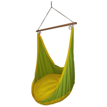Sol Living Ultra Durable Hammock Lounge Swing, Hammock Swing, Adult Swing Outdoor Comfortable Portable Hanging Chair for Backyard, Home, Porch 37 x 59 inches (Weight Capacity 230 lbs) ()