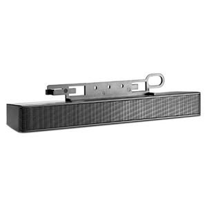 Sistema de barra de altavoces HP NQ576AT - 2W (RMS) - negro + HP en Veo y Compro