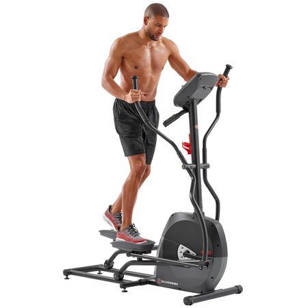 Home Cross Trainer (Schwinn A40 HR Enabled Elliptical Trainer with 7 Programs and 8 Levels of Resistance )