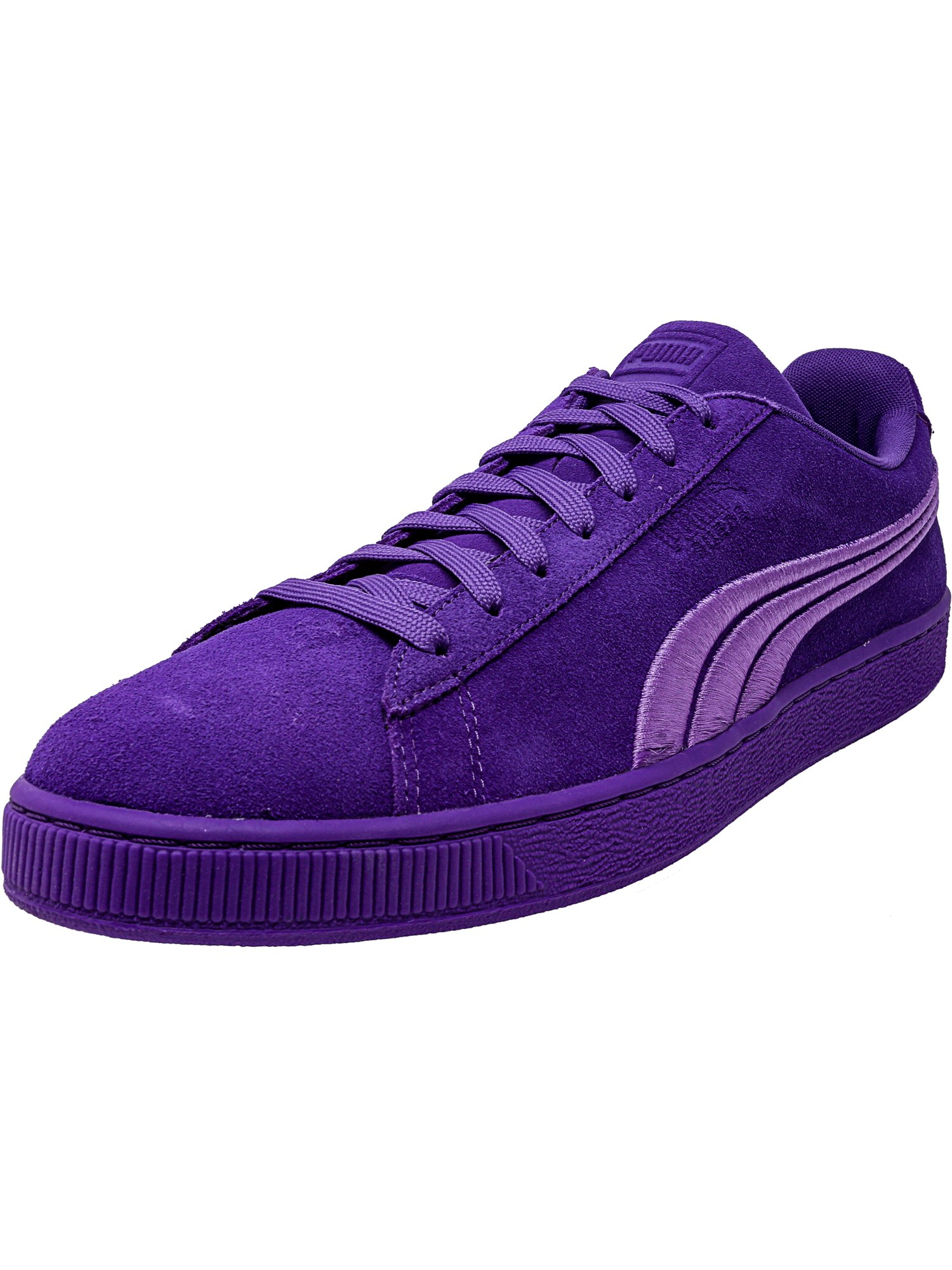 Puma Men's Classic Badge Suede Navigate Ankle-High Fashion Sneaker - 13M