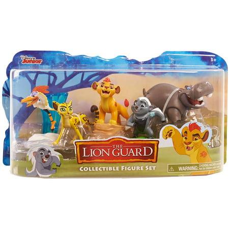 Lion Guard Figures 5 Pack - The Lion King Villain