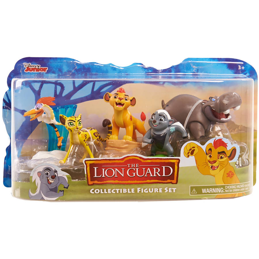 Lion Guard Figures 5 Pack