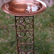 Classic Bird Bath Bowl with Jalousie Stake