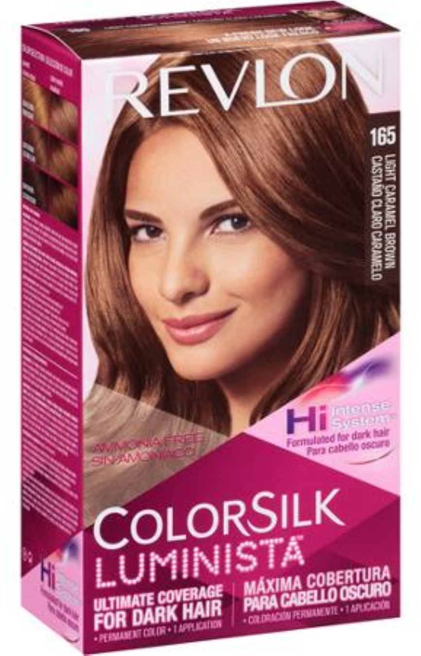 Revlon Colorsilk Luminista Hair Color 165 Light Caramel Brown 1