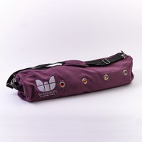 Natural Fitness YOGO PRO Yoga Mat Bag Large Enough to Carry Extra Thick Yoga Mats – Purple