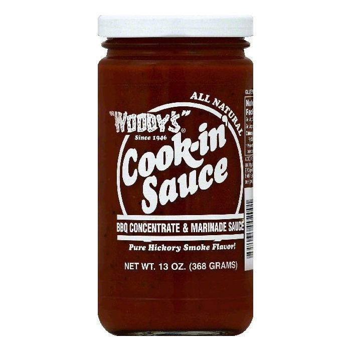 Tree of Life Woody's: BBQ Concentrate & Marinade Sauce, 1...