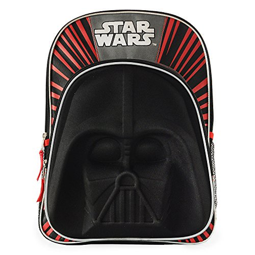 66cc227b49 Buy Star Wars Darth Vader 3D Molded Backpack | Cheapest LVX deals ...