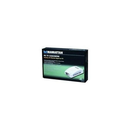Manhattan Portage 150095 PC TV Converter – Functions: MultiView – NTSC, PAL