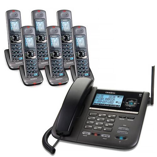 Uniden DECT4096-6 2-Line DECT 6 Corded/Cordless Phone