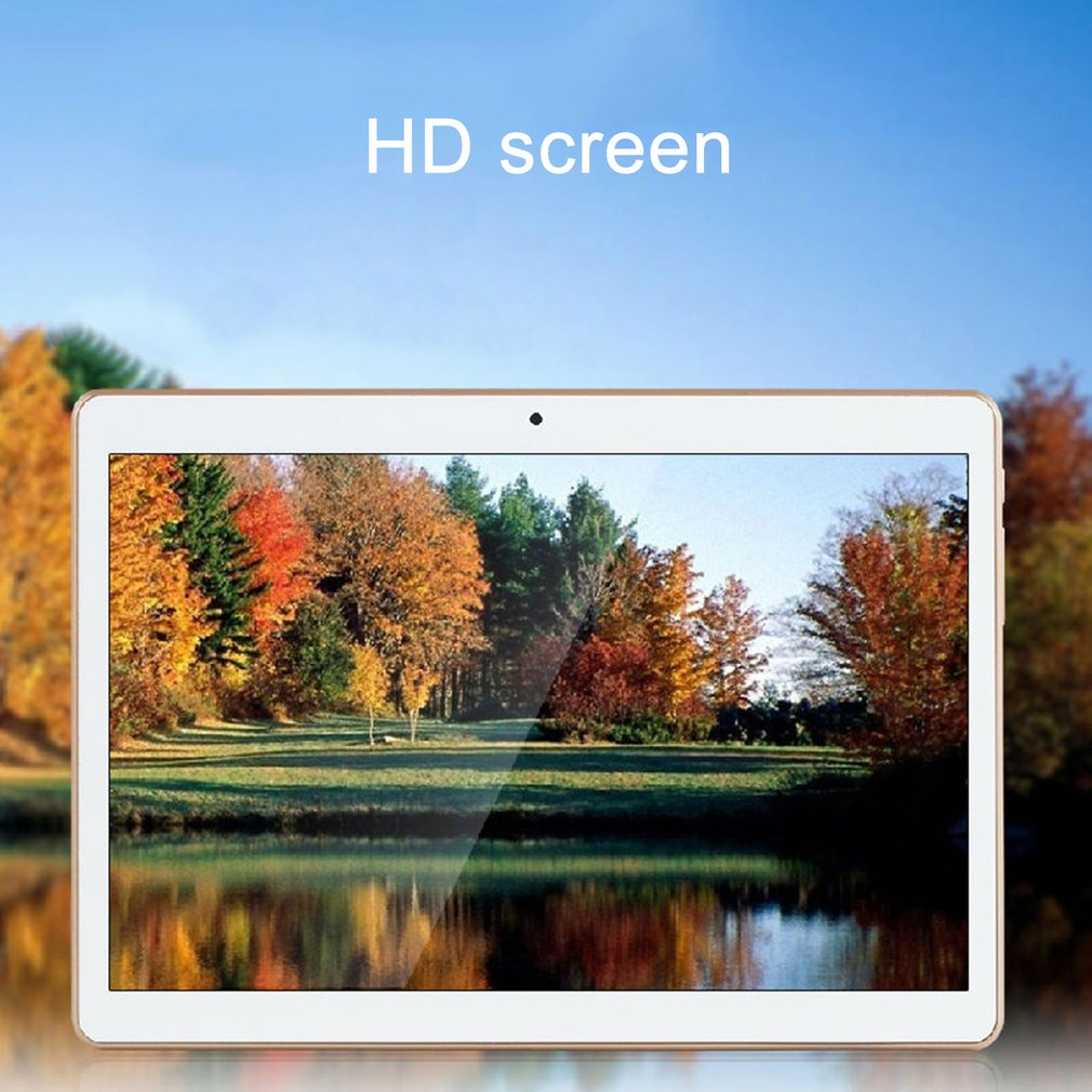 10 inch HD IPS Screen Tablet PC Quad Core Support Android 4.4 5000mAh 1GB+16GB Dual SIM Cards Tablet Built-in GPS