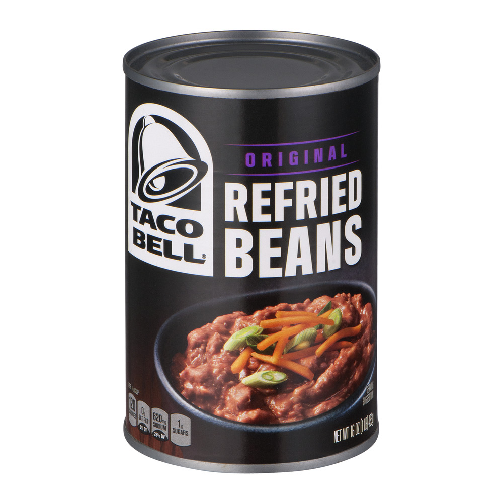 Taco Bell Refried Beans Original, 16.0 OZ