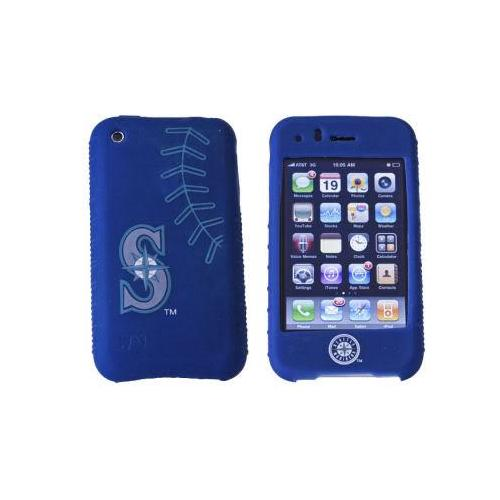 SEATTLE MARINERS CASHMERE SILICONE IPHONE CASE