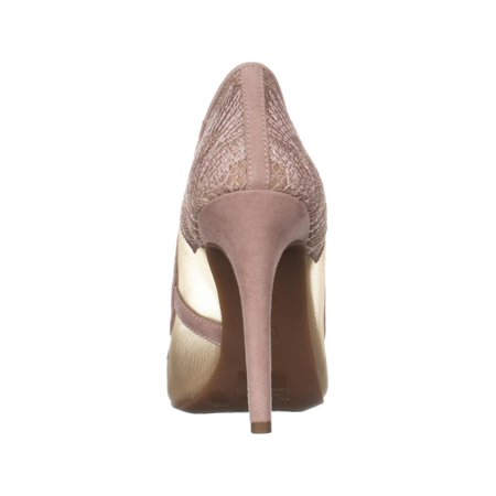 bed9d3f96ad Jessica Simpson Camba Mesh Pointed Toe Pumps, Sheer Nude Blush ...