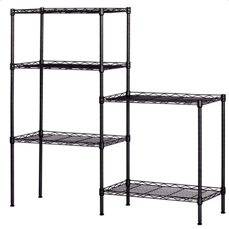 Enjoyable 5 Tier Storage Shelves For Garage Metal Wire Storage Shelves Cube Storage Shelves For Kitchen Heavy Duty Storage Shelves For Garage Multipurpose Download Free Architecture Designs Rallybritishbridgeorg