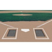 Markers Inc Rubber Batters Box Foundation - Set of 2