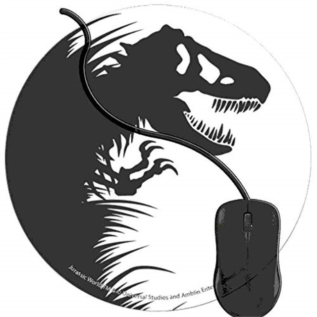 Retro Black And White Striped Design Computer Mousemat Mouse Mat Pad /& Print oo7