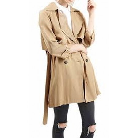 4b0abf65d445 TOPSHOP - TopShop NEW Beige Camel Women's Size 10 Belted Trench ...