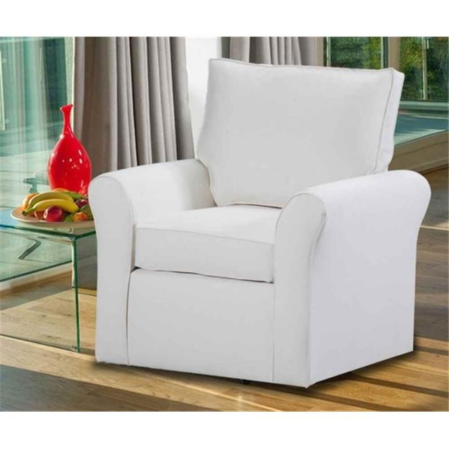 Carolina Accents CA5220-TN Belle Meade Swivel Arm Chair - Natural