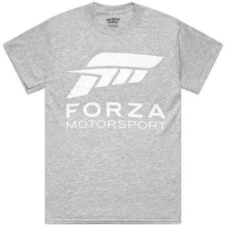 Forza Motorsport Grey Race Crew Tee