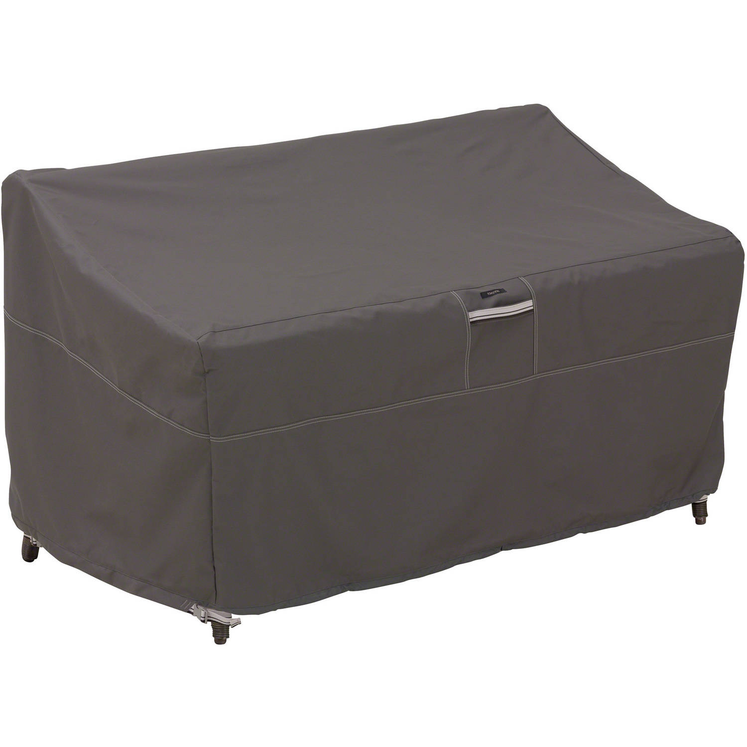 Classic Accessories Ravenna Loveseat Furniture Storage Cover For Hampton Bay Spring Haven All-Weather Patio Loveseats by Classic Accessories