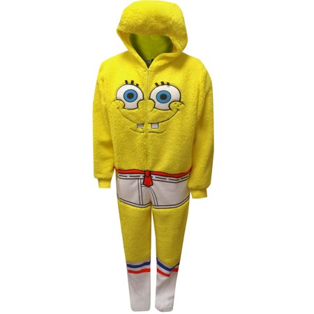 Spongebob Men's unionsuit SPONGEBOB ESPECIAL II (Adult Dog Onesie)